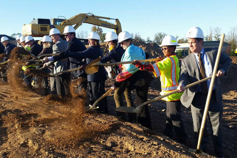 1st I-66 toll revenue project breaks ground in Loudoun Co.