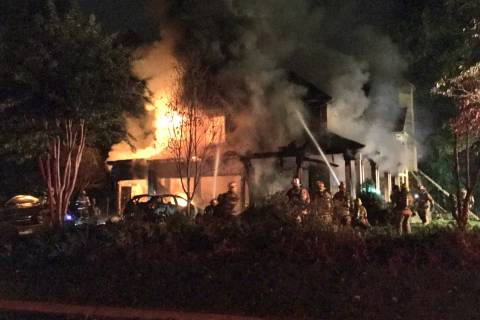 Bethesda house fire injures 2 firefighters, causes $1.5M in damage