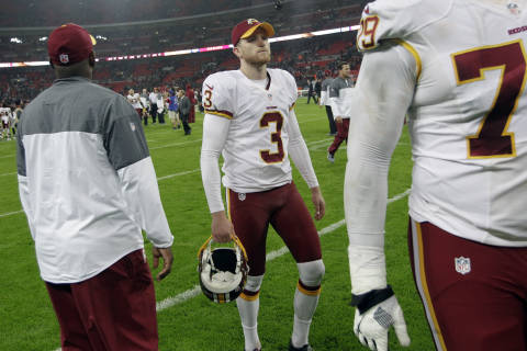 Redskins' tie in London a reflection of season so far