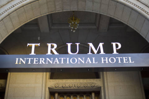 Photos: Trump opens luxury DC hotel