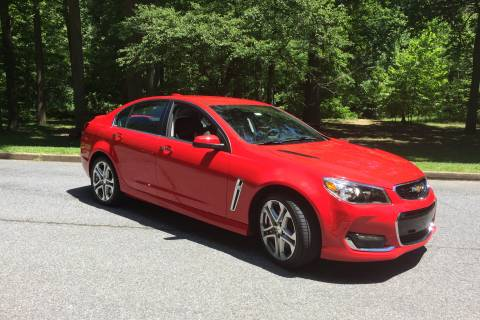 Chevrolet SS:  A fun-to-drive V8 sedan
