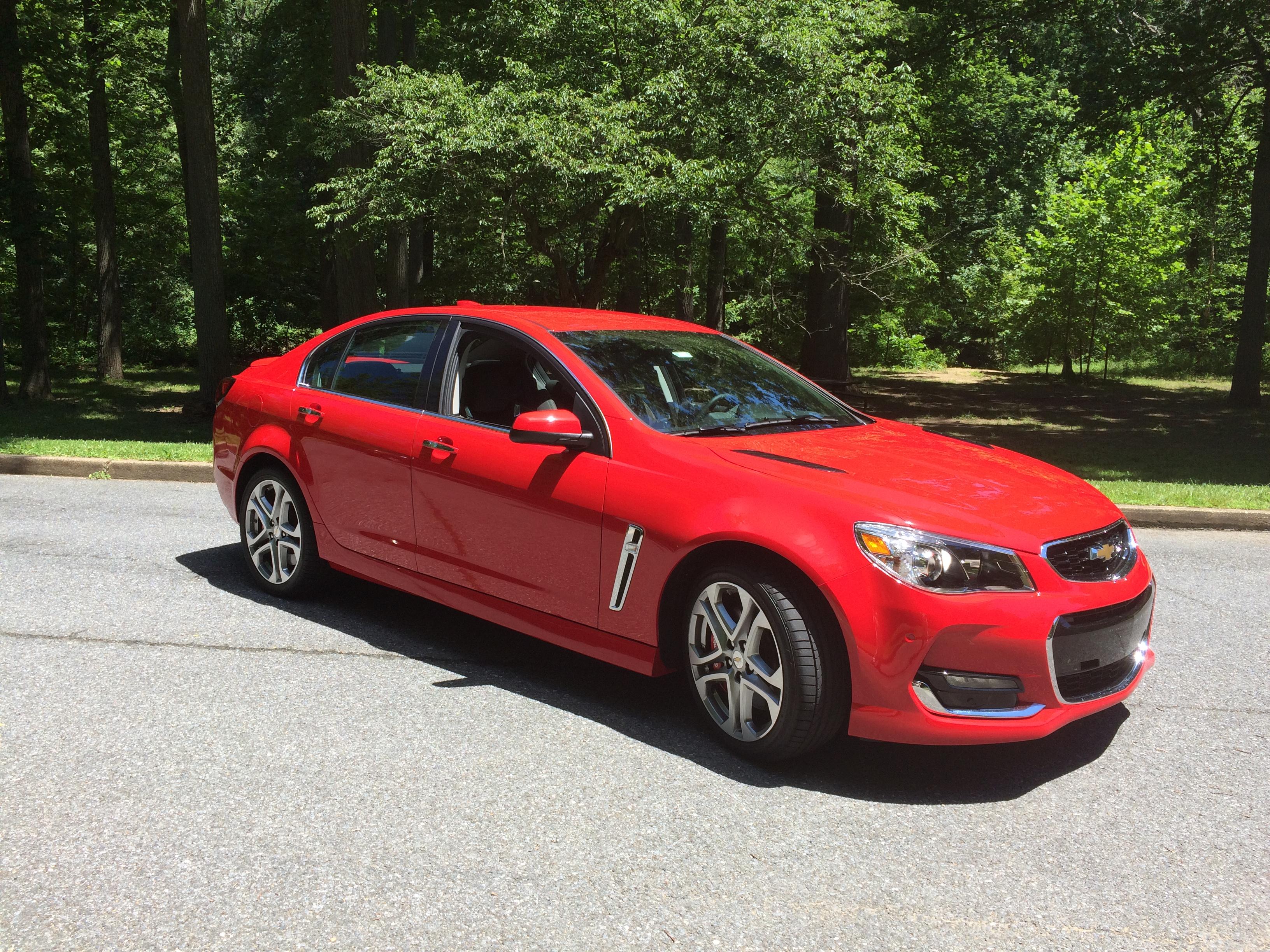 Chevrolet SS: A fun-to-drive V8 sedan   WTOP