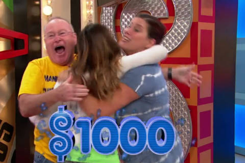 On 'The Price Is Right,' lightning strikes thrice