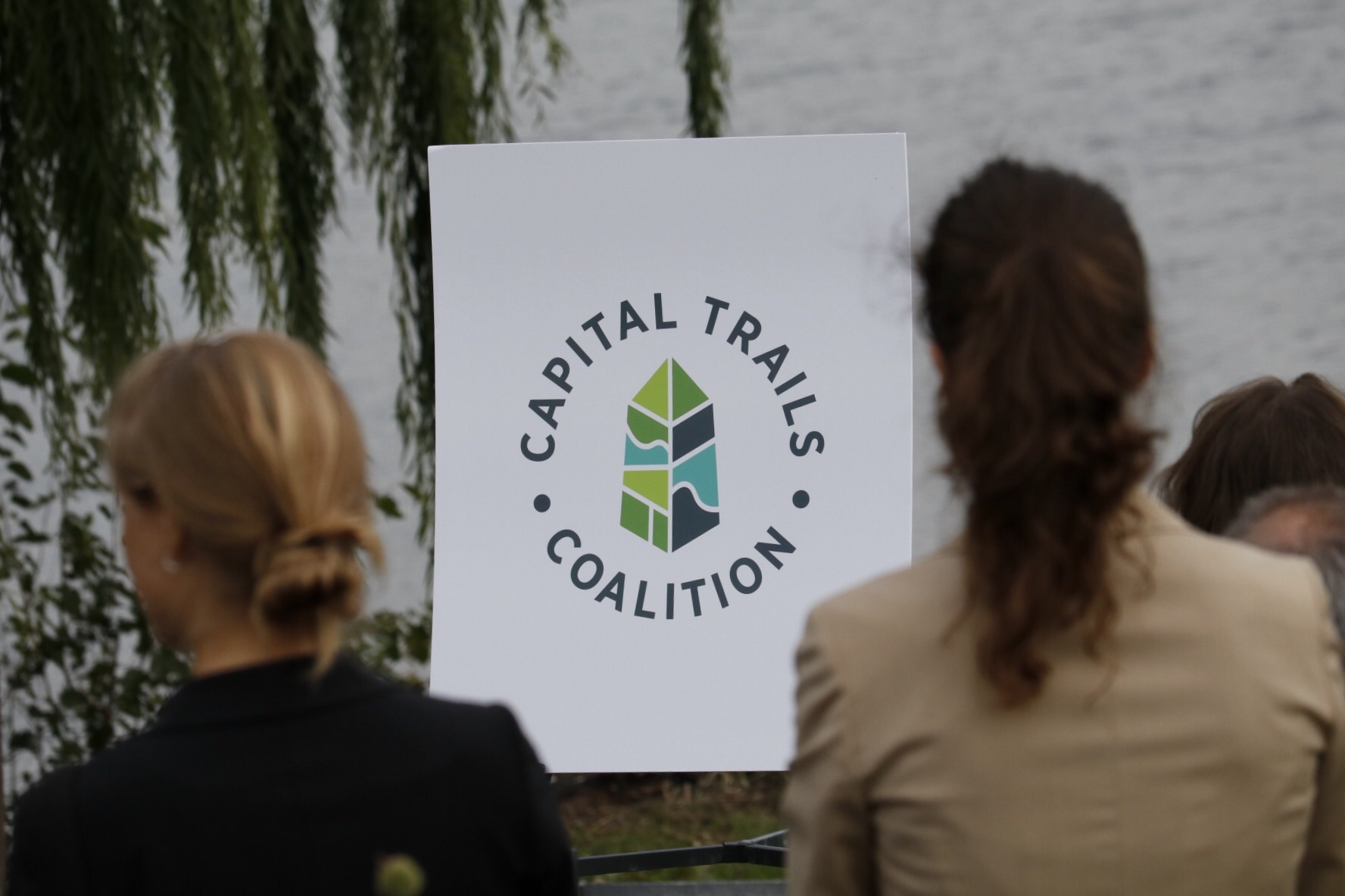 Along the MVT for the Capital Trails Coalition announcement