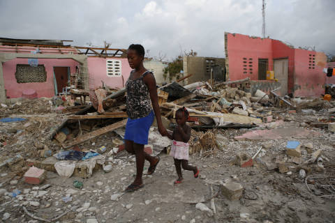 Relief organizations face challenges in Haiti