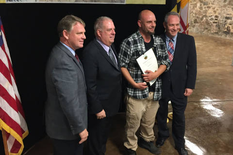 People who helped during, after Ellicott City flooding honored