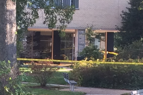 Alexandria apartment building evacuated due to structural damage