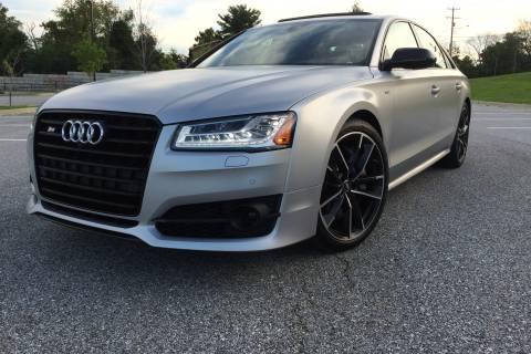 Audi S8 plus takes large, luxury performance sedan to extreme