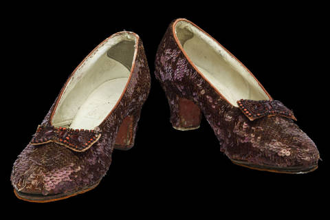 Kickstarter to save Dorothy's ruby red slippers at Smithsonian