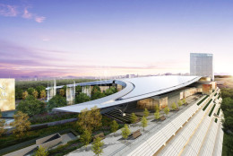 This artisits rendering shows the MGM National Harbor resort and casino.  (Courtesy MGM National Harbor)