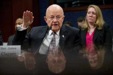 James Clapper, director of National Intelligence, resigns
