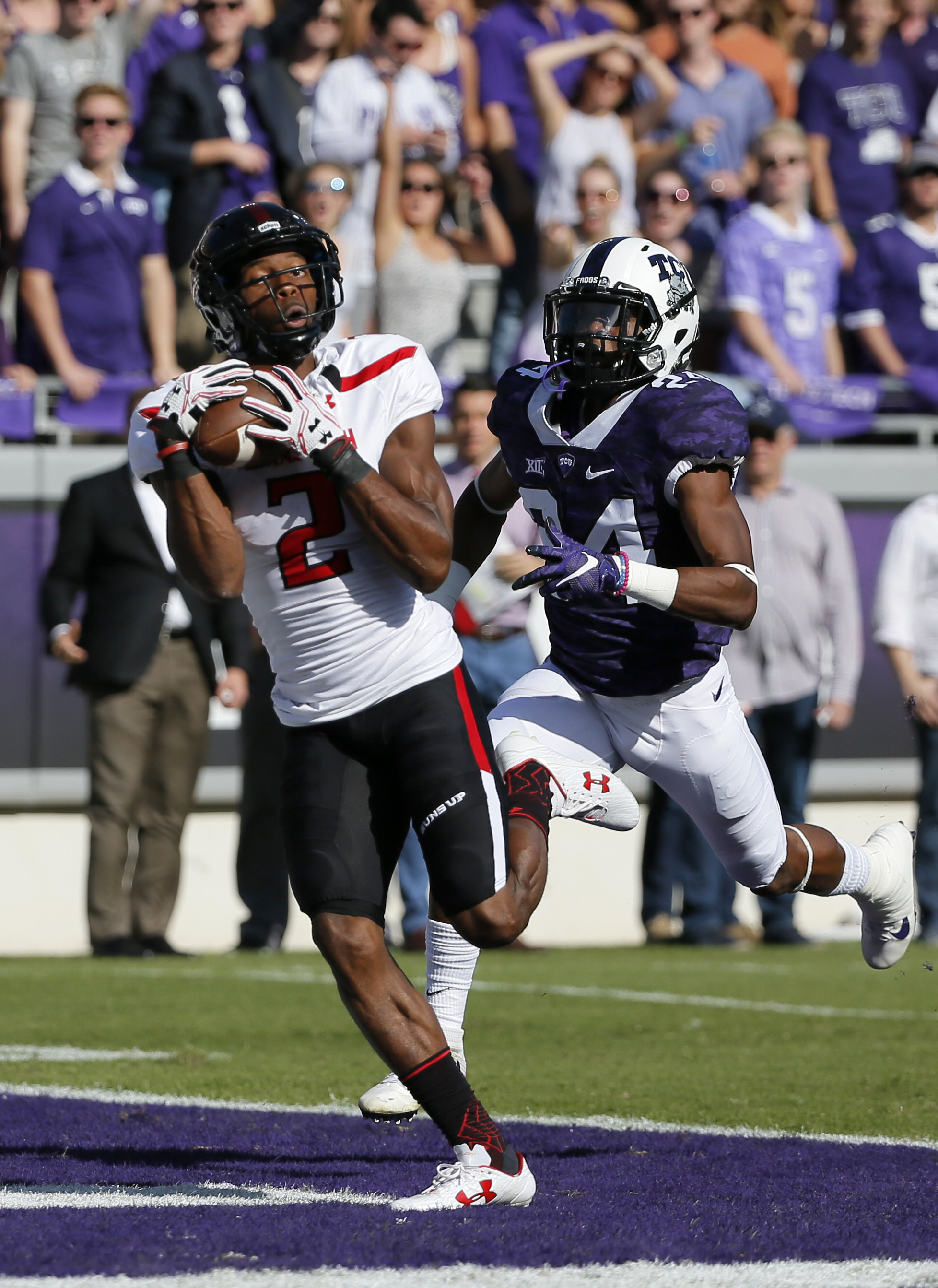 Texas Tech escapes TCU with a 27-24 double-OT victory | WTOP