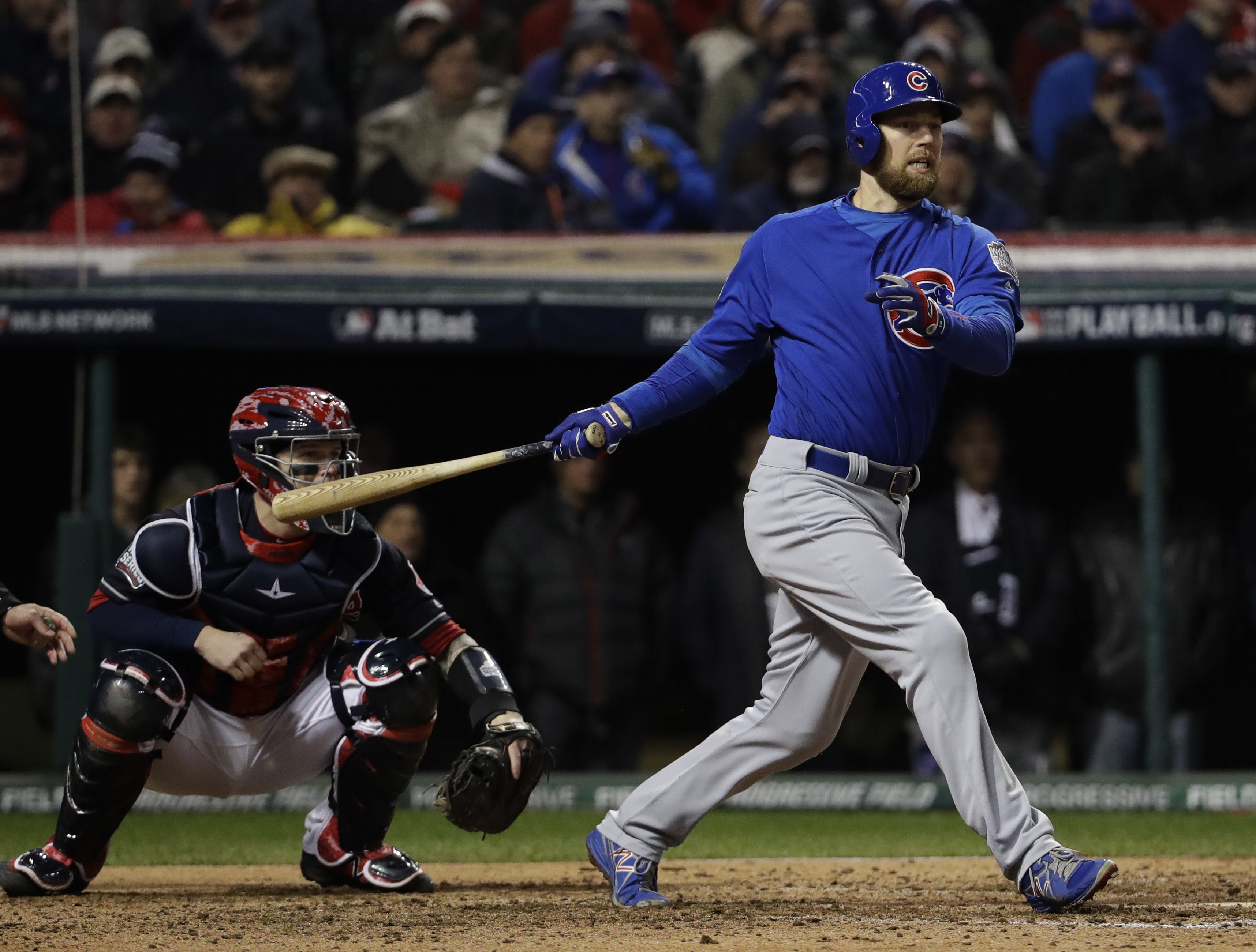24c55c7a1 CLEVELAND (AP) — Nothing scares these Chicago Cubs. Not the stakes, the  weight of history, a tough night at the plate or the prospect of going down  two ...