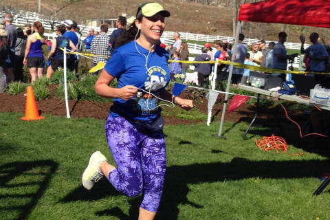 Woman to run Marine Corps Marathon after freak accident nearly ended her life