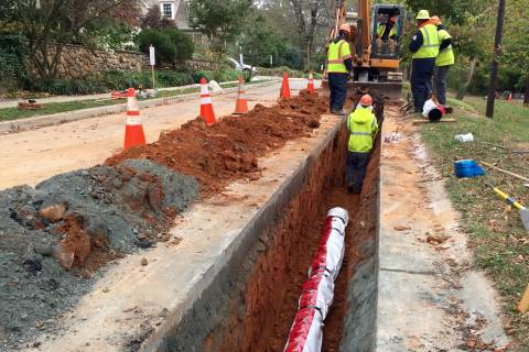 Aging, weakening WSSC water pipes get dose of zinc