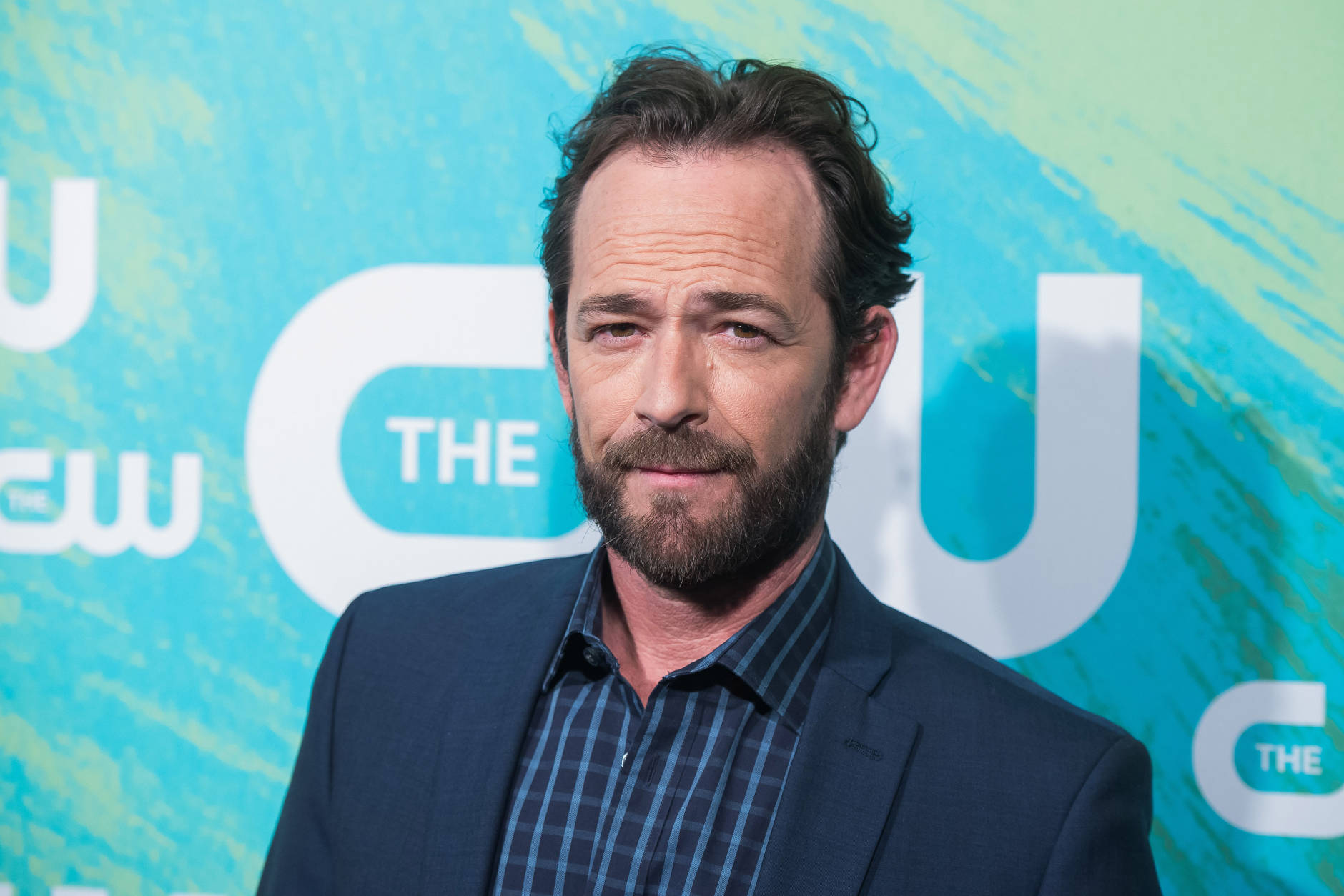 Luke Perry attends the The CW Network's 2016 Upfront Presentation on Thursday, May 19, 2016, in New York. (Photo by Charles Sykes/Invision/AP)