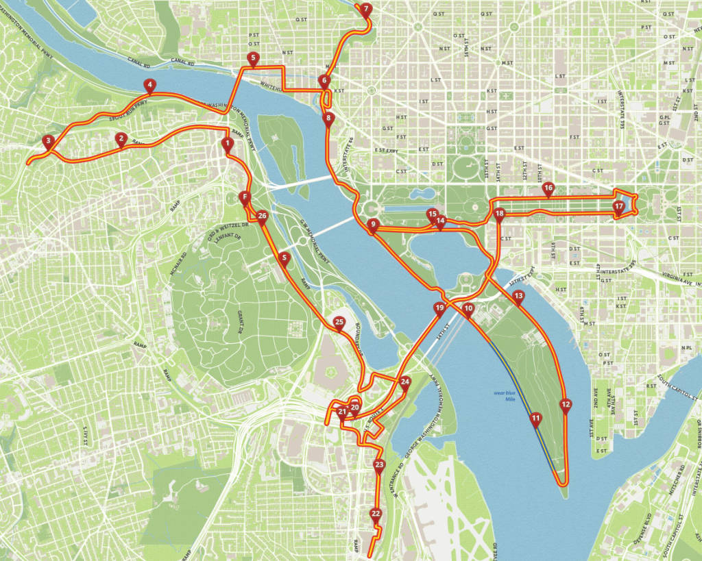 Marine Corps Marathon brings road closures to Arlington ...
