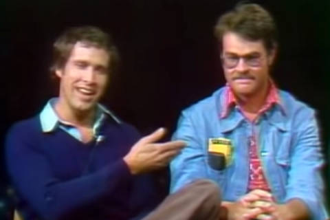 Rare interview before 'SNL' debut on this day in 1975 (Video)