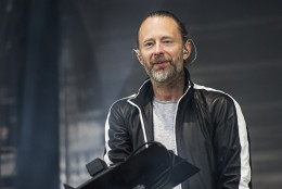 Thom Yorke of Radiohead seen at 2016 Outside Lands Music Festival at Golden Gate Park on Saturday, Aug. 6, 2016, in San Francisco, Calif. (Photo by Amy Harris/Invision/AP)