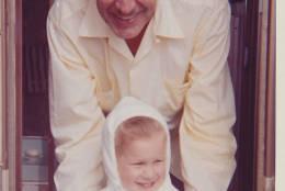 Victoria Price with dad Vincent Price (Courtesy of Victoria Price)