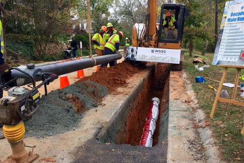Expect more water main breaks as WSSC replaces pipes