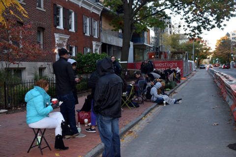 Potential buyers camp out for chance at multimillion-dollar DC condos
