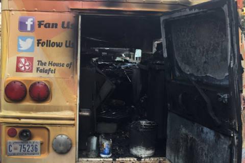 3 injured, 1 critically, in food truck fire near GWU campus in DC