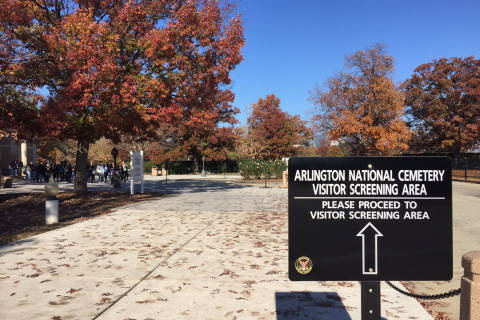 Arlington National Cemetery's stepped-up security: Armed officers, enhanced screening