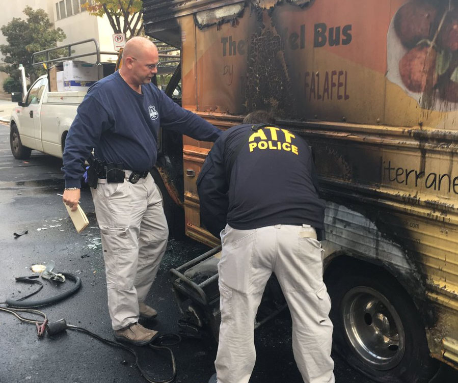 Food Truck Owner Recovering After His Food Truck Caught Fire