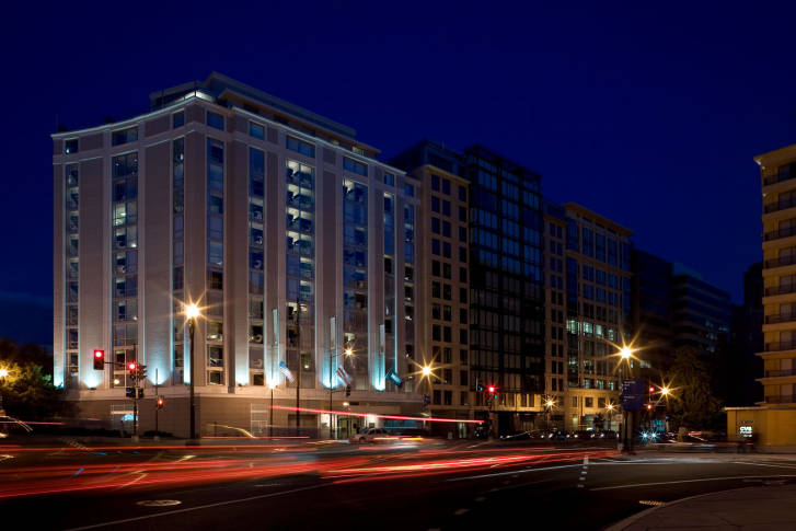 The Kimpton Donovan Hotel On 14th Street In Northwest Thomas Circle Is Six Blocks From White House Courtesy Hotels