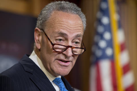 Anti-Trump protests spread to Democratic leadership with sit-in at Schumer's DC office