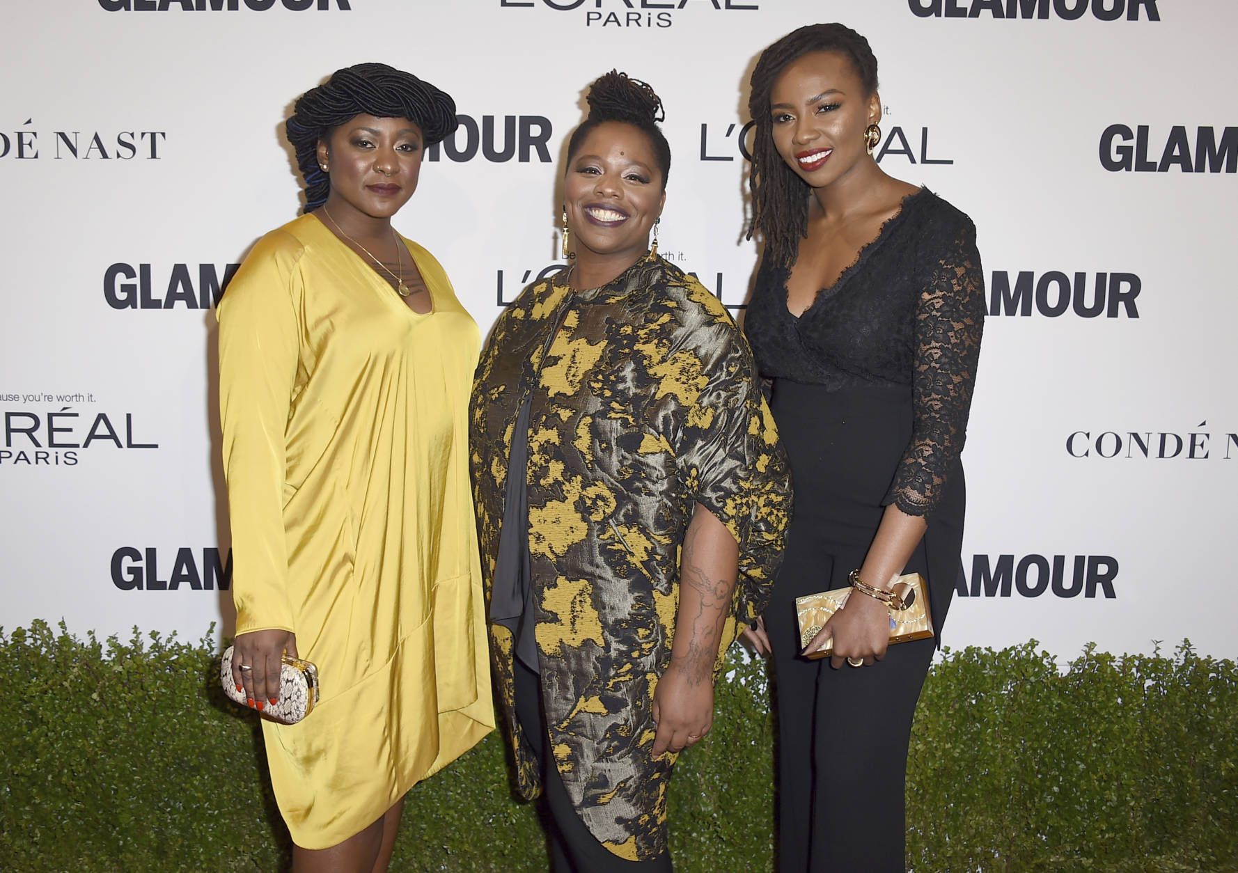 Image result for alicia garza  2016 glamour women of the year awards