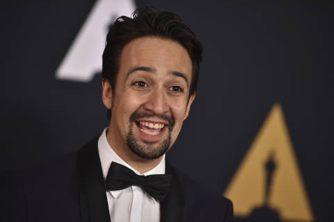 'Hamilton' creator Lin-Manuel Miranda marks time in DC with show tunes, selfies