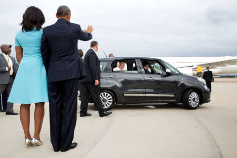 Images from Obama presidency: Historic moments