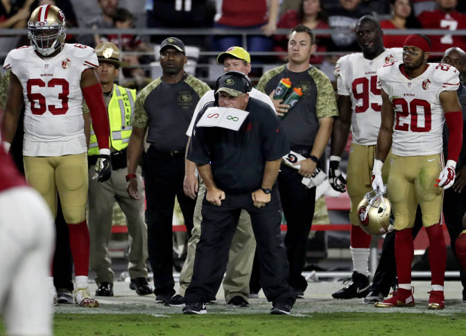 Progress not enough to prevent 8th straight loss for 49ers