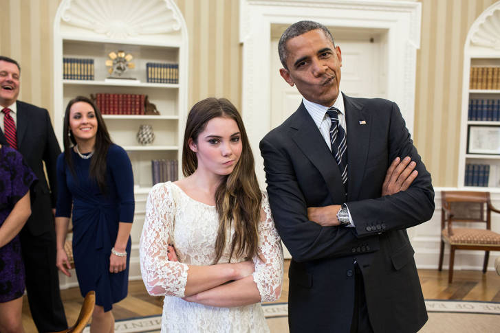 recreating oval office. 15, 2012, The President Suggested To McKayla Maroney That They Recreate Her \u201cnot Impressed\u201d Photograph Before Departed. (Official White House Recreating Oval Office