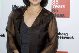 Designer and artist Maya Lin attends Bloomberg Businessweek's 85th Anniversary celebration at the American Museum of Natural History on Thursday, Dec. 4, 2014, in New York. (Photo by Stephen Chernin/Invision/AP)