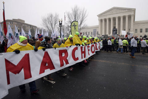 Road closures announced ahead of March for Life in DC