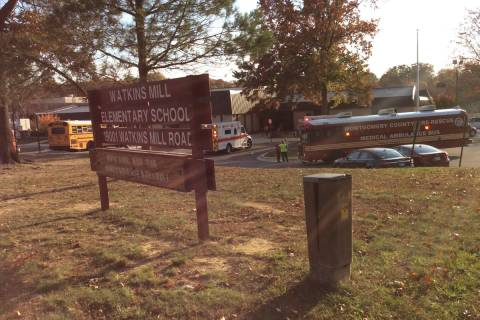 Pepper spray used on Montgomery Co. bus; 14 sent to hospital