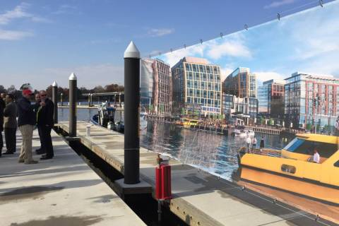 Developers aim to expand DC's regional water taxi service