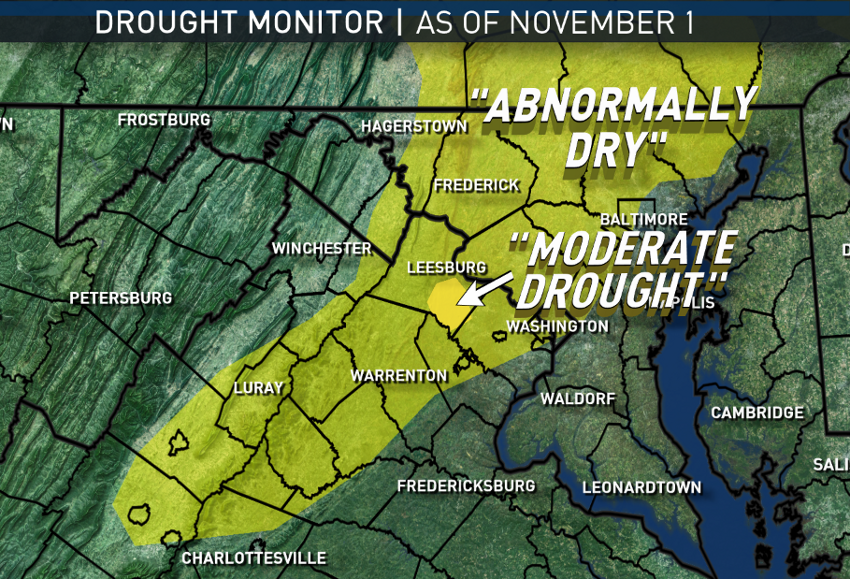 (Data: National Drought Mitigation Center; Graphics: Storm Team 4)