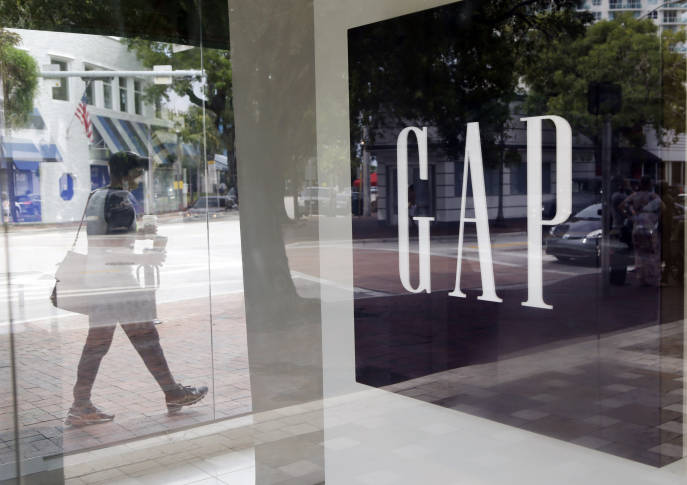 Gap's third-quarter profit drops nearly 18 percent