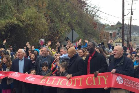 Ellicott City officially reopens for Small Business Saturday