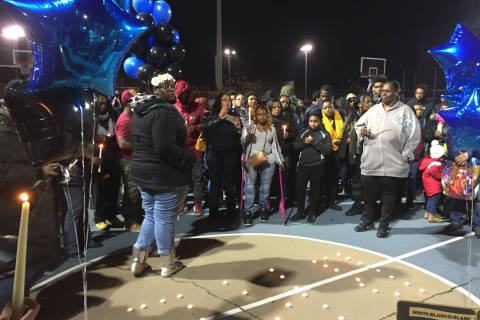 Community remembers teen girl killed over Thanksgiving weekend