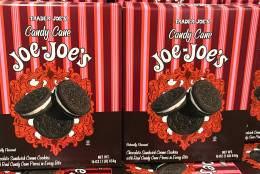 """Trader Joe's has acquired a following for its unique and budget-friendly foods like Speculoos Cookie Butter, Gummy Tummies Penguins, Pub Cheese, and let's not forget """"two-buck chuck."""" And the holiday season ushers in a whole host of limited-time goodies. From cookies to coffee, here's what to keep an eye out for during your next grocery trip. (WTOP/Rachel Nania)"""