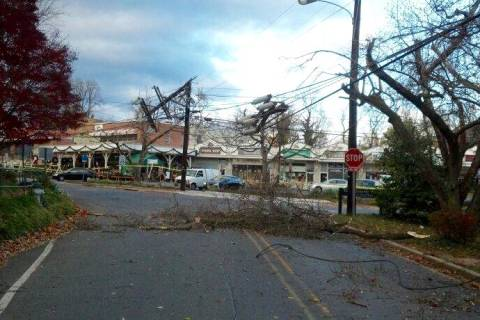 Strong winds increase risk of power outages