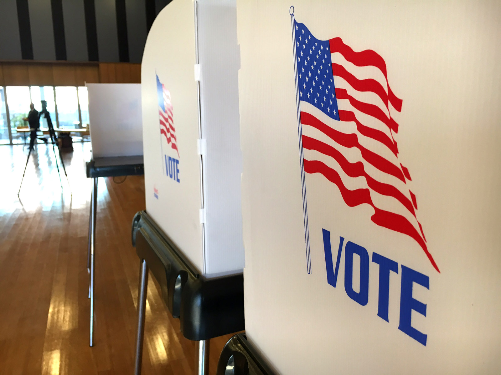 Voter turnout was down slightly for the presidential election.(WTOP/Kate Ryan)
