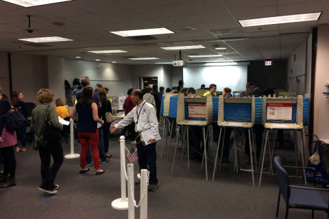 Final day of in-person absentee voting draws crowds in Fairfax