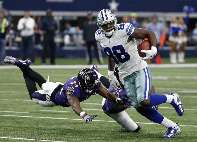 Terrell Suggs gives props to Cowboys rookies Prescott, Elliott