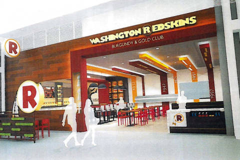 Redskins-themed restaurant coming to Dulles Airport